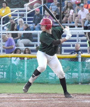 Matt Venuto hit two home runs for the Mohawk Valley DiamondDawgs in Wednesday's win over the Auburn Doubledays.