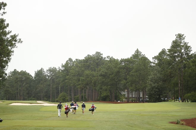 The U.S. Junior Boys is being played at the Country Club of North Carolina, in the Village of Pinehurst, N.C.