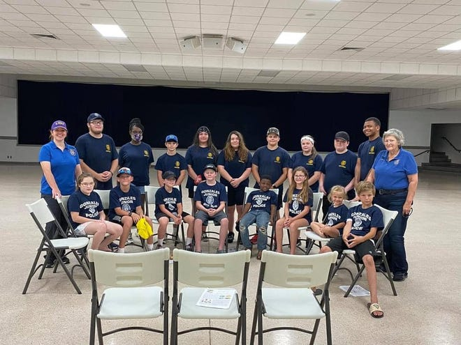 Gonzales Police held the annual junior police program.