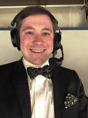 New Peoria Rivermen broadcaster Jason Ruff.