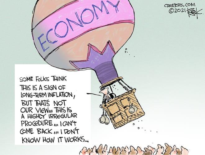 Today's editorial cartoon (July 23, 2021)