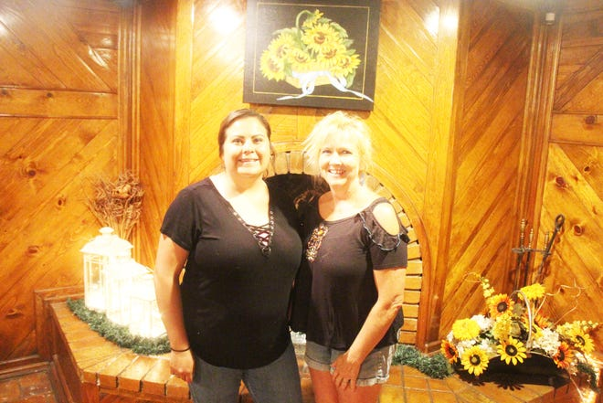 Jodi's Grill staff. From left, employee Shyla Valencia and owner Jodi Hughes. Not pictured, employees Jennifer Phillips, Kara Varner and Christy Martinez.