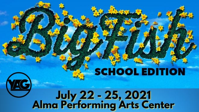 Young Actors Guild will be performing Big Fish at the Alma Performing Arts center from July 22 through July 25