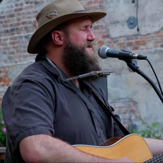 Jonathan Foster, a folk-Americana musician from California, performs at 6 p.m. on Friday at Muggswigz coffee shop in downtown Canton.