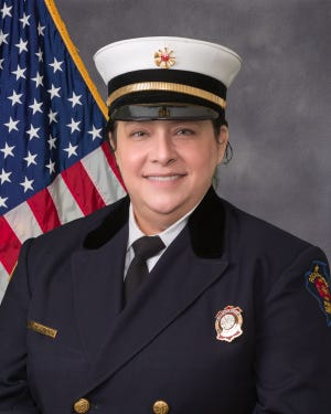 Rockford Fire Department Division Chief of Operations Michele Pankow