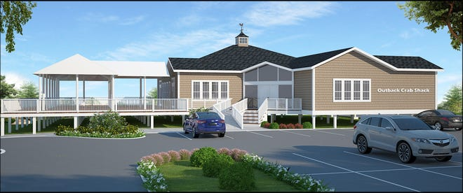Sleiman Enterprises released this image of the design plan for the new Outback Crab Shack on C.R. 13 North.