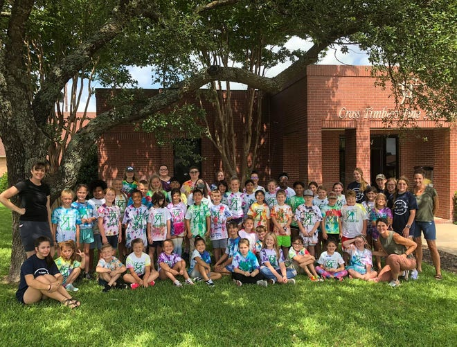 The Cross Timbers Fine Arts Council recently hosted its summer art camp. Thank you to volunteers Mary Caroline, Will, Lydia, Molly, Cadence, Andi, Gwen and Jillian for their help, along with instructors Stephanie Beach and Lauren Betancur.