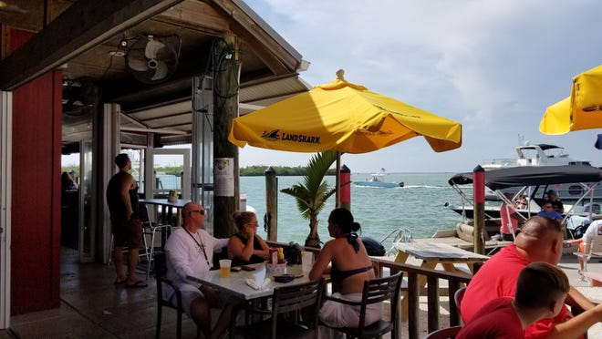 """Old Salty Dog, which appears in this week's restaurant review column """"Best Things to Eat,"""" is at 1601 Ken Thompson Parkway on City Island in Sarasota."""