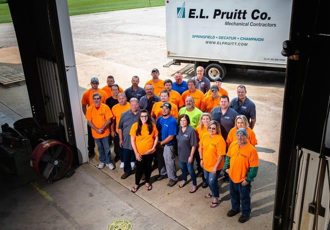 E.L. Pruitt Co. is celebrating its 50th anniversary. The company has been involved with some of the biggest projects in central Illinois including the new downtown Springfield YMCA, the expansion of Akorn Pharmaceuticals in Decatur and upgrades to Memorial Medical Center and HSHS St. John's Hospital. [Justin L. Fowler/The State Journal-Register]