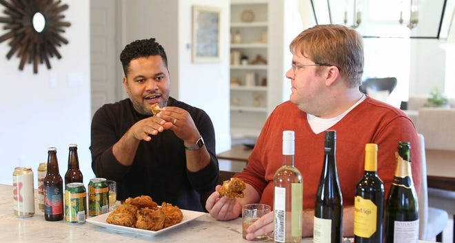 Pairing wines and beers with fried chicken
