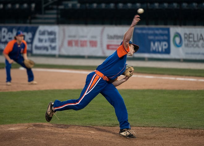 Sean Dutton struck out nine in six innings of Leominster's 3-2 win over Cherry Valley on Wednesday.