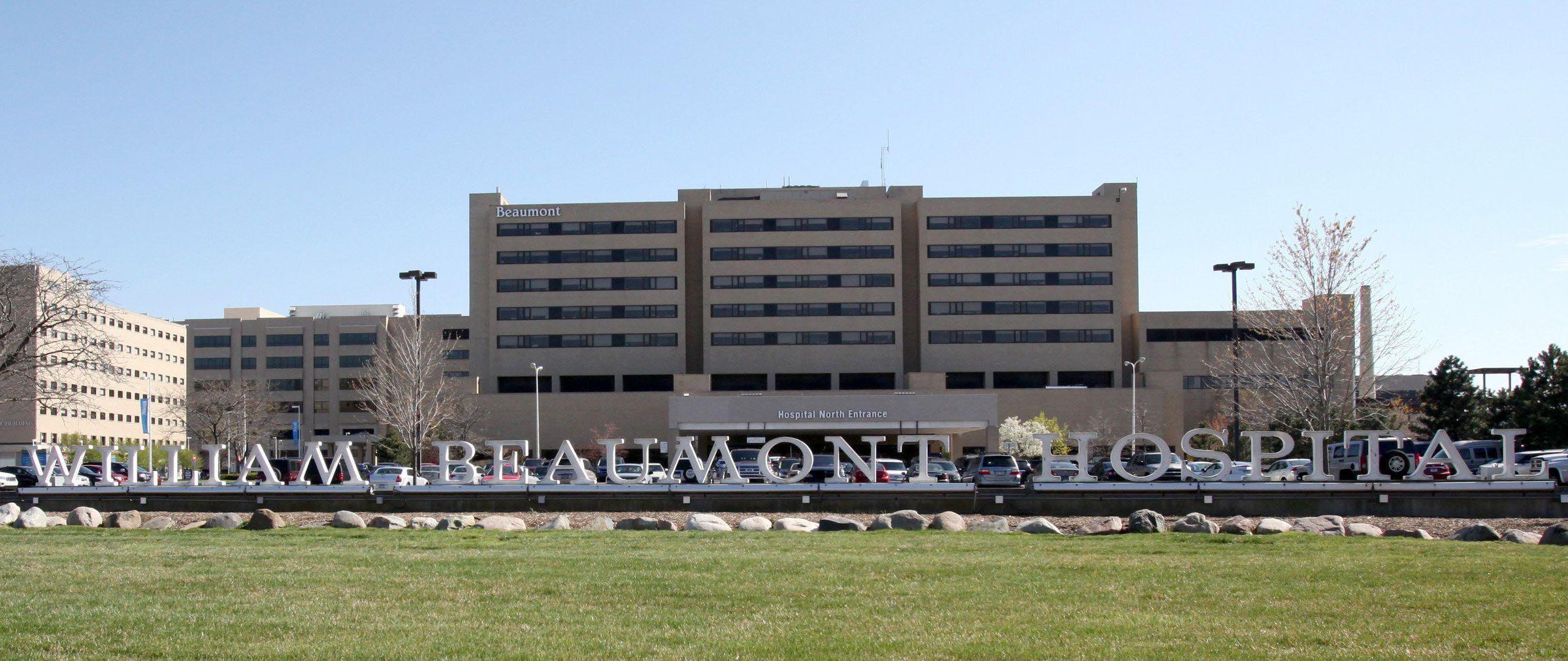 Beaumont Hospital in Royal Oak.