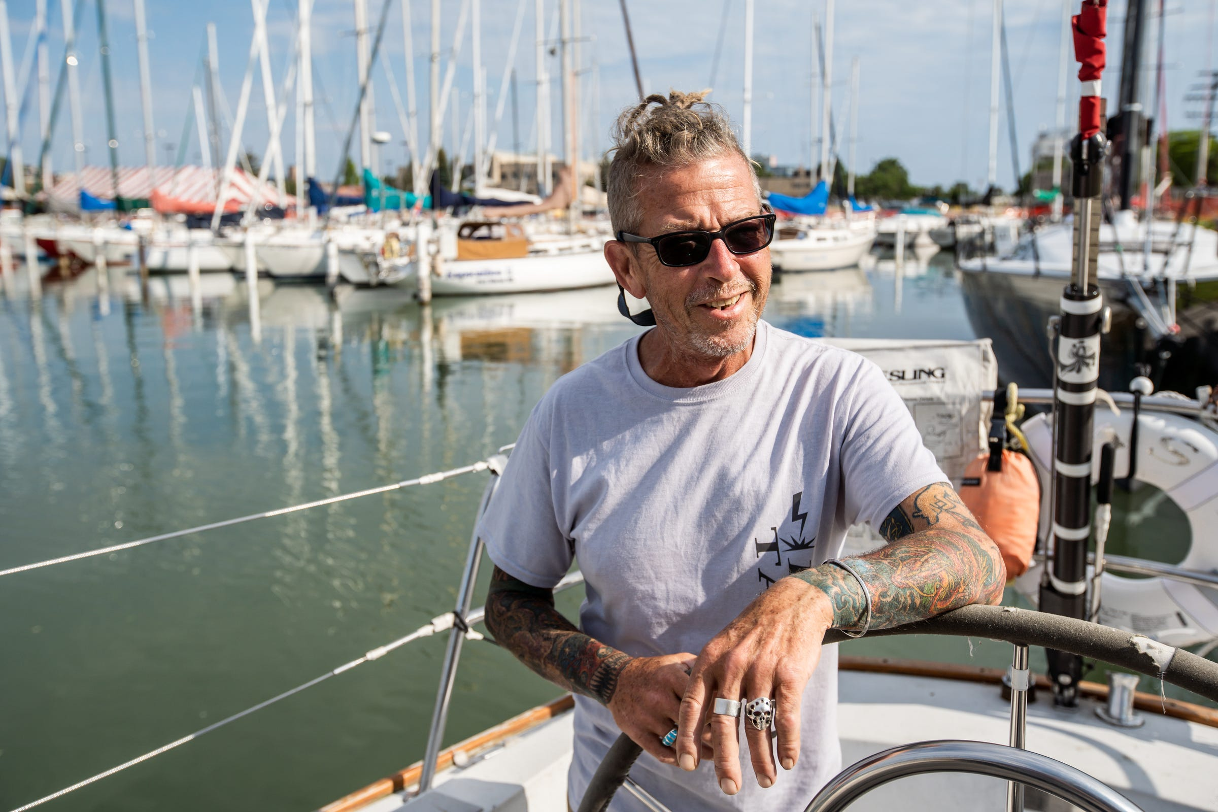 9-time champion almost had to miss Mackinac race. Then competitors stepped in.