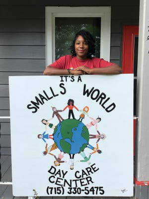 Nakiva Bell-Smalls has licensing as an eight-child home day care center and caters to second-shift workers. She has a waiting list and is hoping to expand her licensing to 16 children.