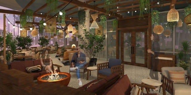 El renovado Sheraton Phoenix Downtown abrirá un nuevo restaurante, Carcara, en el otoño de 2021.