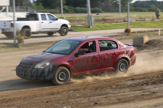 The Ottawa County Fair hosted the new Autocross on the grounds on Wednesday night.