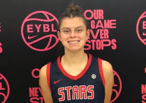 Camarillo's Gabriela Jaquez is competing in the Elite Youth Basketball League's Under-17 Nike Nationals this week with her AAU team, Cal Stars.