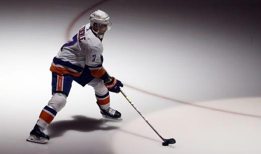 New York Islanders' Jordan Eberle