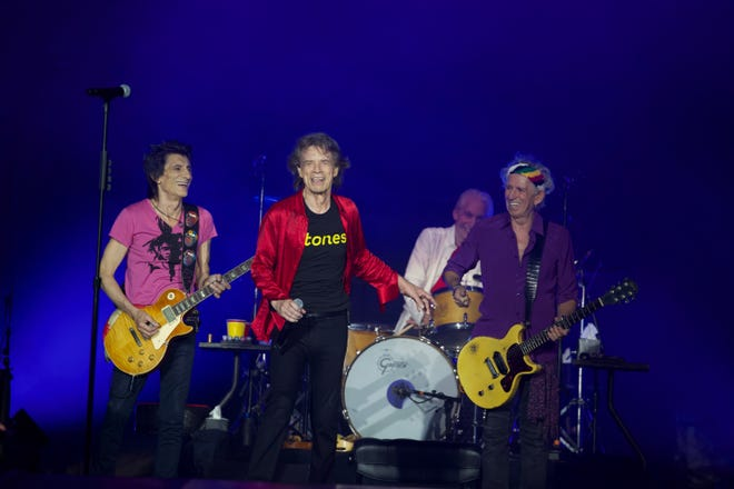 The Rolling Stones continue their filterless tour in September 2021.