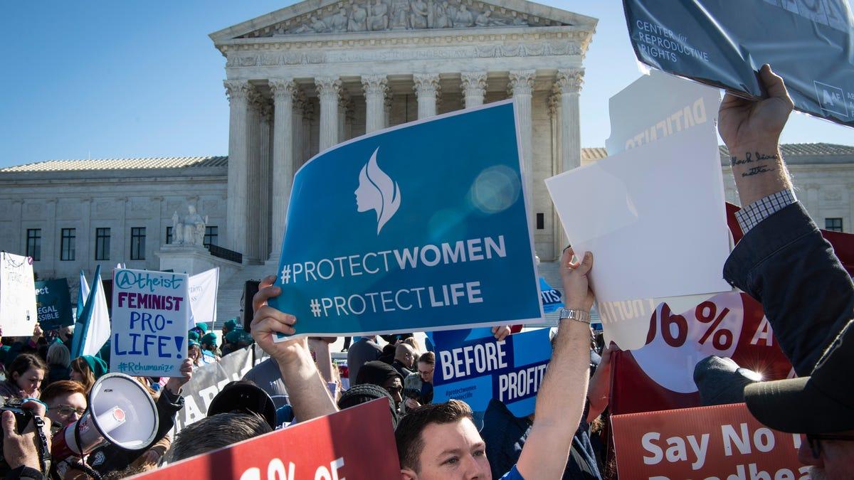 Mississippi asks Supreme Court to overturn Roe v. Wade in blockbuster abortion case