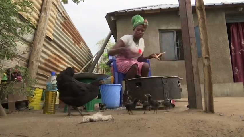 Virus shakes fragile foundation of South Sudanese mother