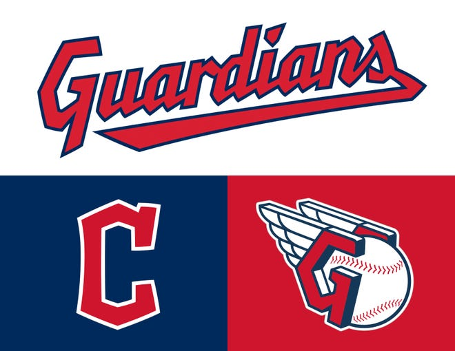 New logos for the Cleveland Guardians