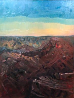"""Wahalla Plateau #1,"" by Margo Miller."