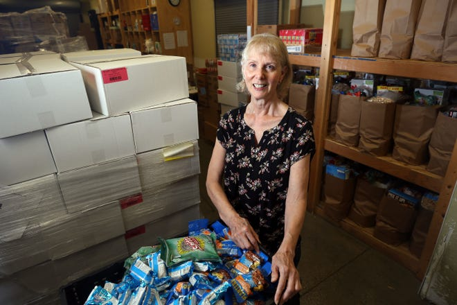 Nancy Vermaaten said she  spends five to six days a week volunteering at the Vineyard Columbus 5th Avenue Food Pantry at 181 E. Fifth Ave. in Columbus.