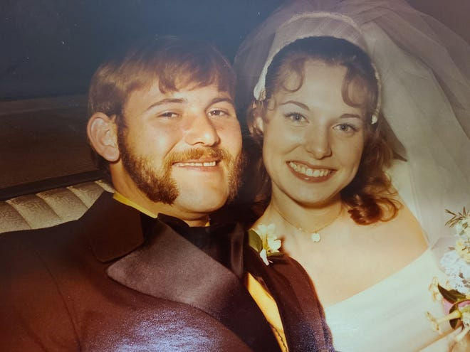 Forest (Frosty) King and Carol Longsdorf were married July 31, 1971 at the LeRoy United Methodist Church in Westfield Center.