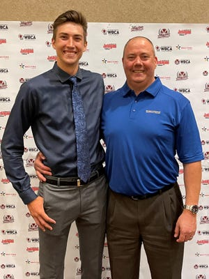 Logan and his father Trent Kowalski