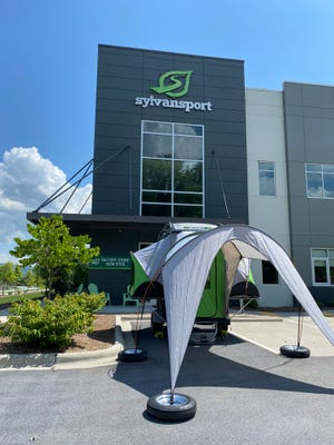 SylvanSport, the Brevard-based maker of innovative trailers and camping gear, invites the public to the grand opening of its factory store Monday, July 26 at their production facility on Welcome Street.