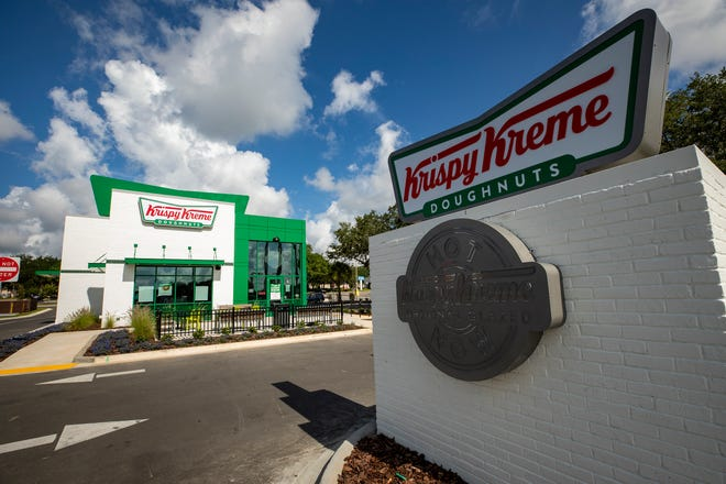 A new Krispy Kreme is opening in North Lakeland in front of Lakeland Square Mall near other brand new eateries where the old Toys R Us once stood. The new location led to the closure of the doughnut shop on South Florida Avenue.