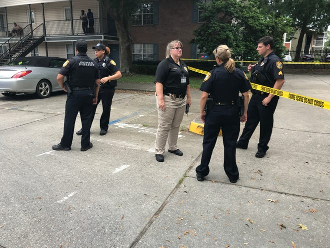 Ocala Police Department officials on Friday were investigating a shooting at Promenade at Ocala Apartments.