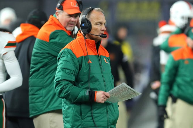 Mark Richt said he was frustrated because it took him a little longer to 'spit things out' when he was calling plays at the University of Miami. He looks back and believes it was the early stages of Parkinson's disease.  Rich Barnes-USA TODAY Sports
