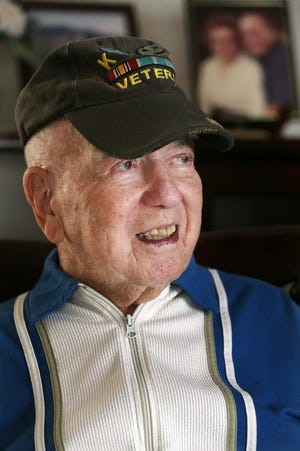 Arthur Paiva, 88, of Middletown, served in the Army Airborne during the Korean War and was at the main line of resistance on the day of the Armistice.