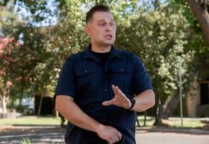 Stockton police Officer Mark Afanasev