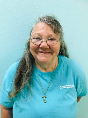 Participant  in the Senior Community Service Employment Program, Joanne Moulton.