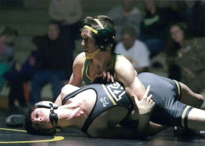 Rex Howard finished his senior season undefeated for the Crest High School Chargers.
