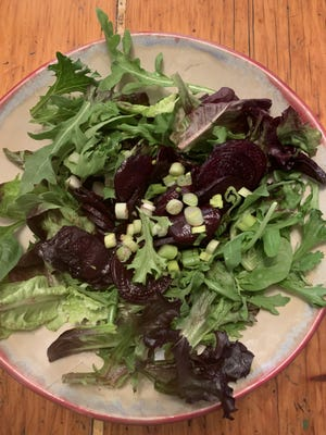 Glazed balsamic beets are a lovely and vitamin-packed addition to salads or cheese plates.