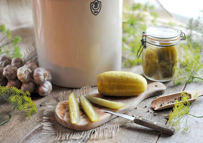 Pickling is a natural method of preserving summer's precious bounty.