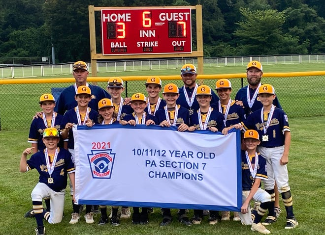 Greencastle Little League won the Section 7 tournament and advanced to the state tournament
