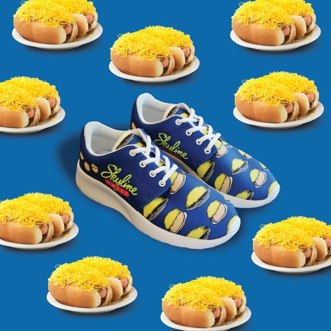 In honor of National Chili Dog Day, Skyline Chili will be launching 100 pairs of limited-edition sneakers.