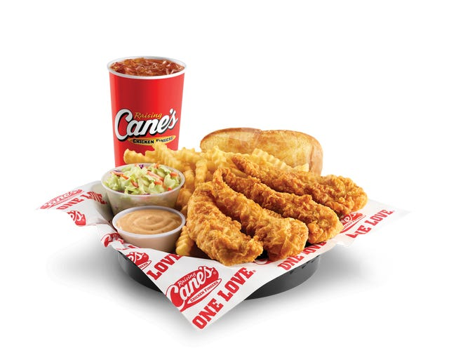 Raising Cane's is giving away a free chicken finger to guests ordering over the mobile app July 27 to celebrate National Chicken Finger Day.