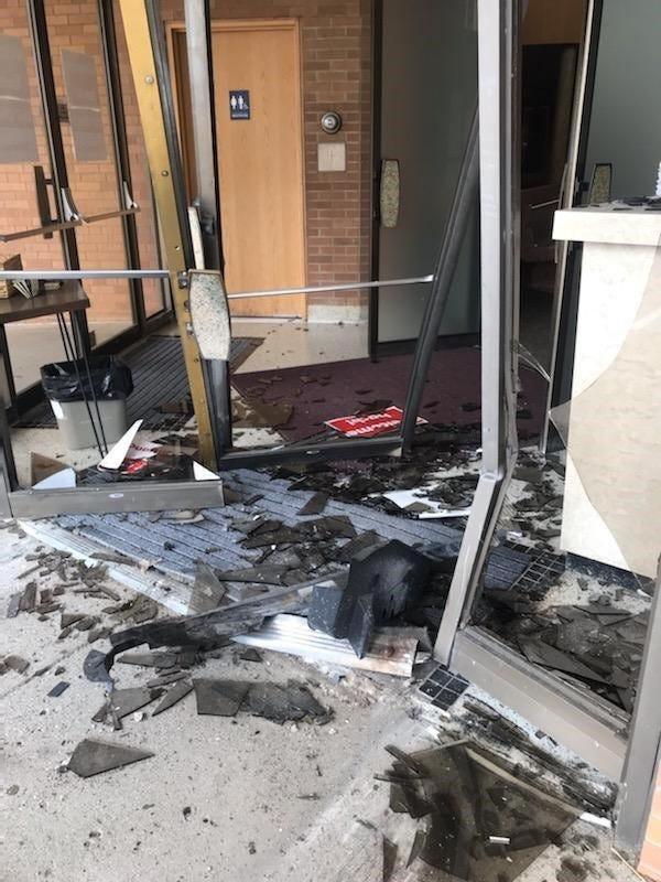 Driver crashes through doors of St. Clair Shores church, officials say