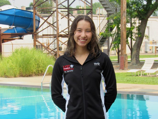 Four members of the Lancaster YMCA Stingrays, including Lancaster's Mia Hensley, qualified for the YMCA National Long Course Swimming Nationals, which will be held in North Carolina.