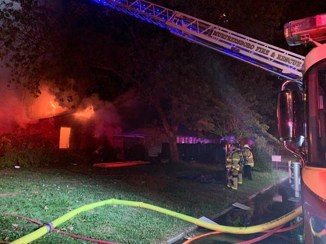 Huntington fire, Murfreesboro