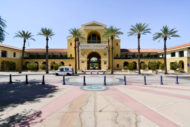 City Hall in Cathedral City, Calif., on Thursday, July 1, 2021.