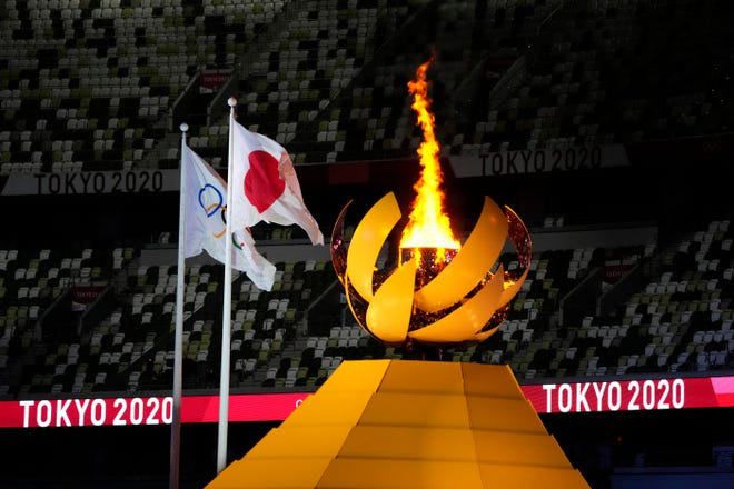 The Olympic cauldron was lit during the opening ceremony for the Tokyo 2020 Olympic Summer Games. The Olympic Games remain an event that generates attention and passion.