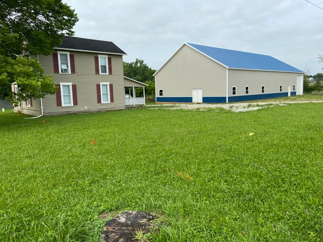 A zoning change would enable New Creations Chapel Inc. to build a church and office building on its property at 1817 Highland Road.