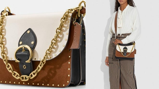The buckle keeps all of your belongings tucked safely inside.